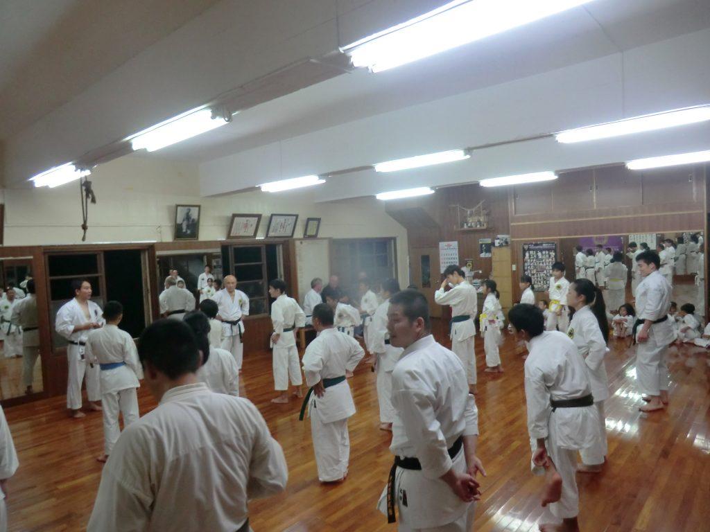 Training bei Sensei Zenpo Shimabukuro in Okinawa
