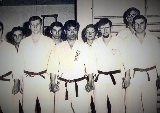 Kanazawa Sensei und Prof. Dieter Korschelt 1969 in der Lassenstr.