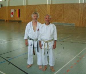 Dieter Korschelt mit Sugimura Sensei