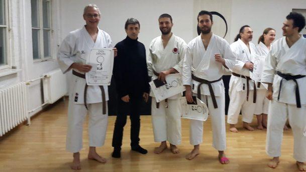 Henry, Efthimios, Tassos und Nikos