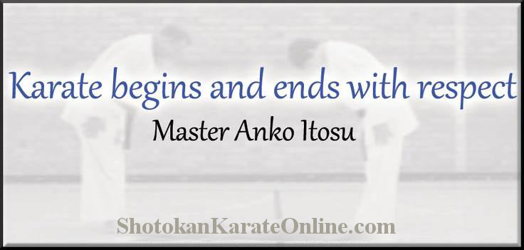 karate etiquette