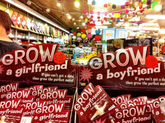 Grow your girlfriend, can't get a date grow ur mate #funny #iphoneography #photography #odd #NYC