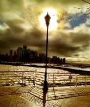 The lamp which lightes NYC