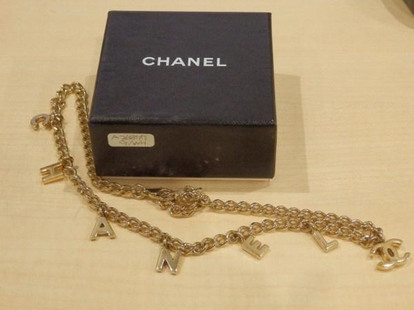 CHANEL シャネルのネックレスを福津市内でお買取り!