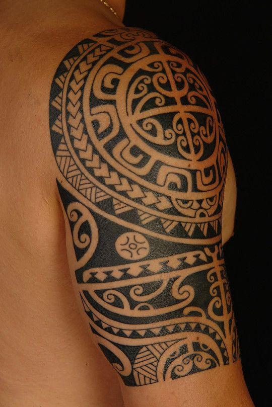 Aztec Shoulder Tattoo : aztec, shoulder, tattoo, Awesome, Aztec, Shoulder, Tattoos