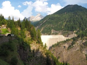 dam side panorama