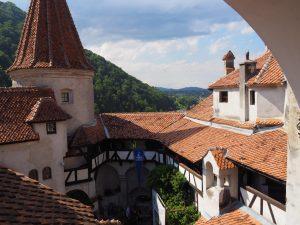 Castle Bran courtyard