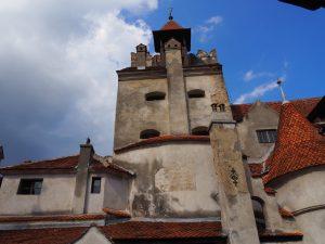 Castle Bran outside