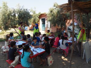Refugee children education overview