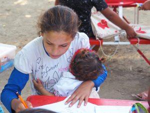 refugee kid education