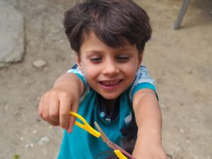 refugee children arts and craft