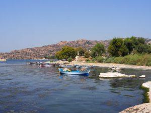 Lake bafa boats