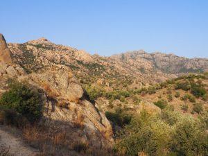 Besparmak mountain bafa golu