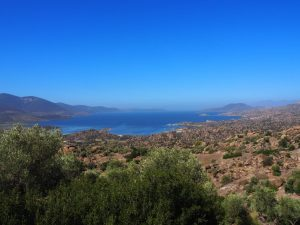 lake bafa blue water