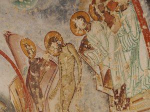 fresco yediler monastery of the seven brothers