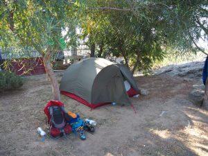 Camping lake bafa karia