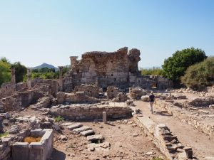 Ancient church of Mary in Ephesus