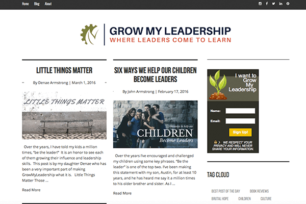 Grow My Leadership