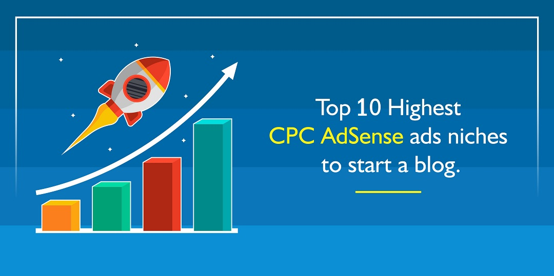 Top 10 Highest CPC Ad-Sense Ads Niches To Start a Blog - Shoutech