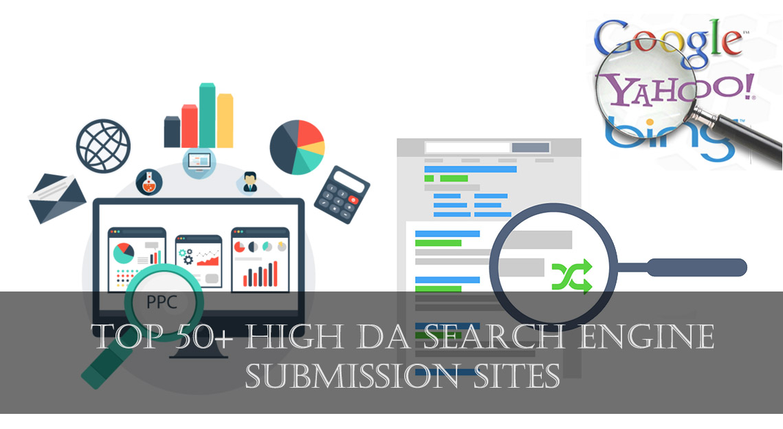 Top 50+ High DA Search Engine Submission Sites [2019] - Shoutech