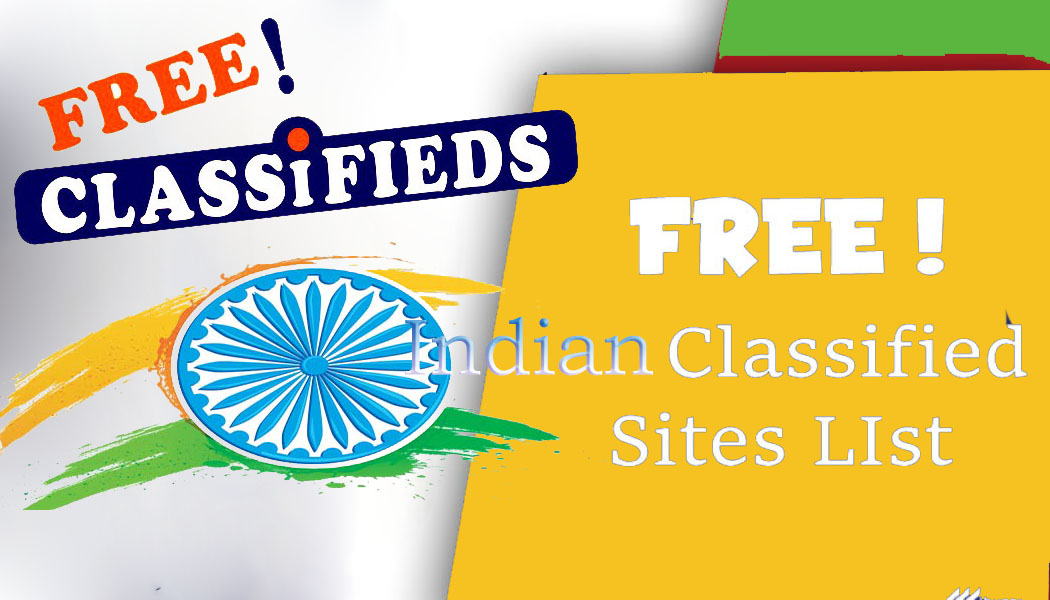 Top 300+ Free Classified Sites List in India [2019] - Shoutech