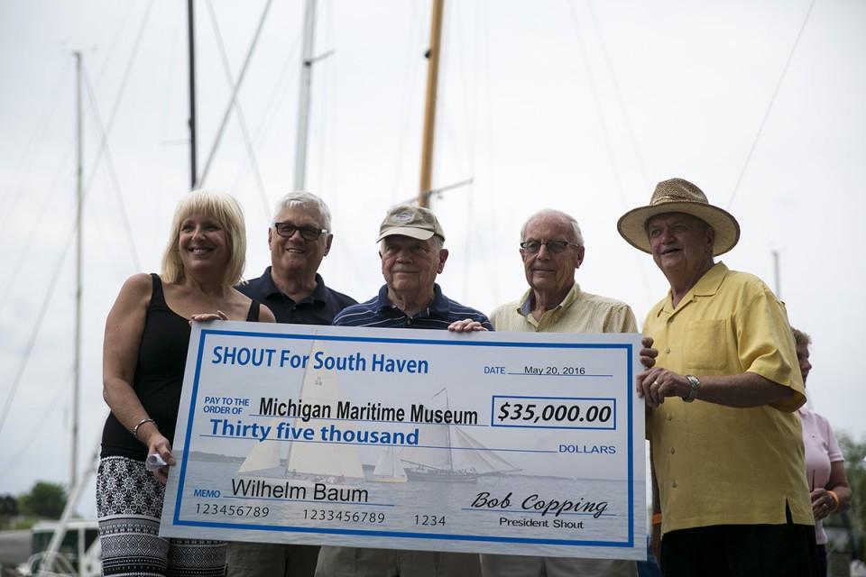 SHOUT dontates $35,000