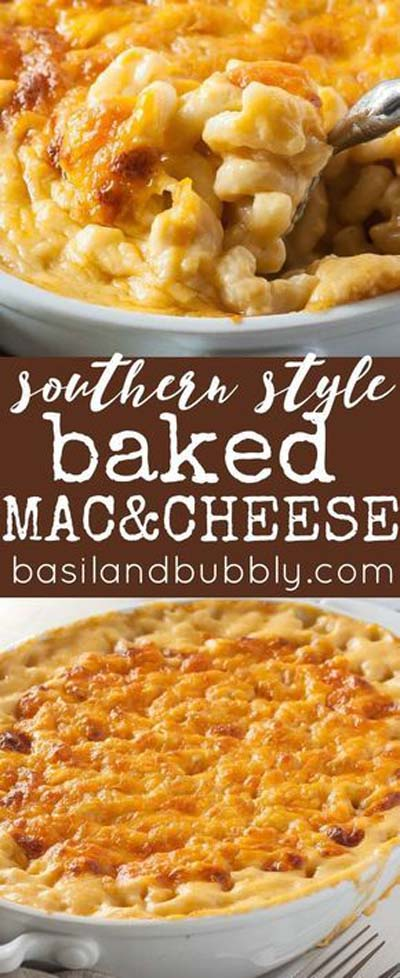 Mac And Cheese Recipes: Perfect Southern Baked Macaroni And Cheese