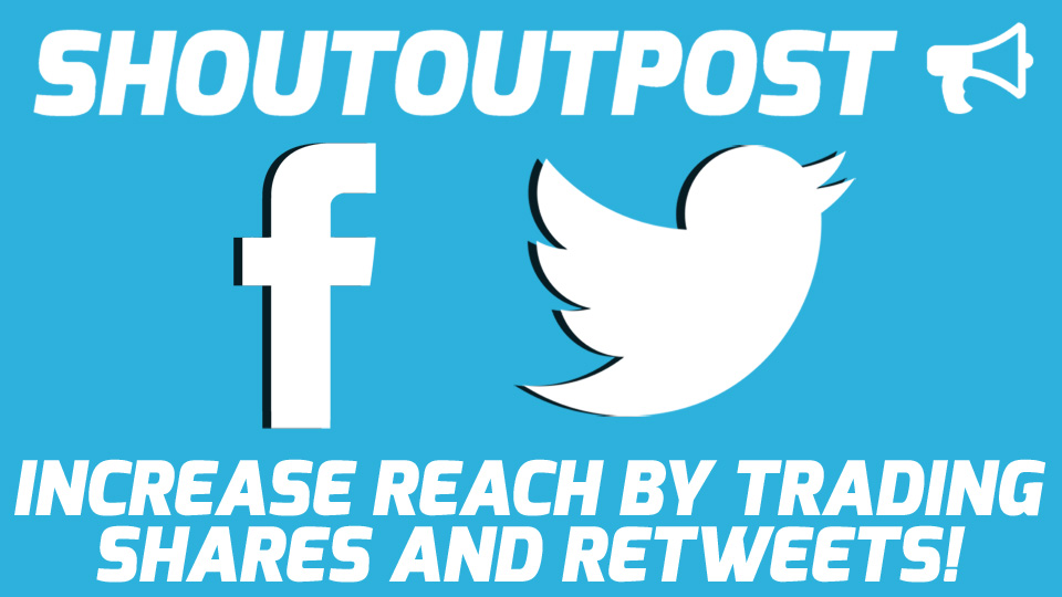 Increase Engagement and Reach by Trading Shares on Facebook or Retweets on Twitter