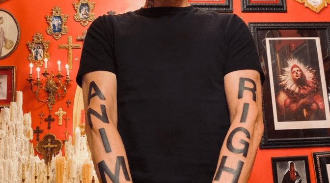 Moby's Activism Tattoos And New Protest Song