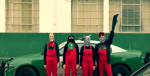 Police Forces In Chile File A Formal Complaint Against A Feminist Collective For Their Music