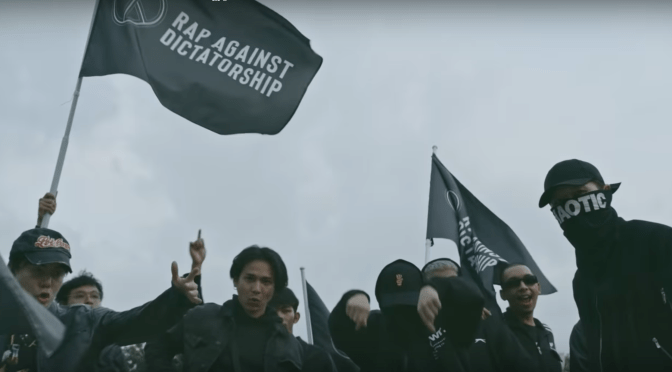 As people Protest In Thailand, Rap Against Dictatorship Release A New Song ปฏิรูป (Video)