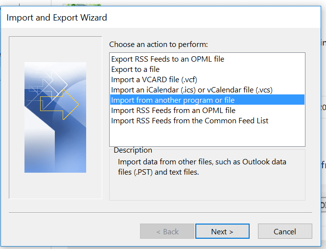 export emails from outlook