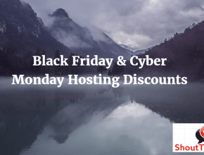 Black Friday and Cyber Monday Hosting Discounts