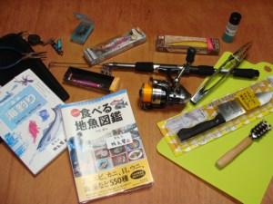 奄美大島のゲストハウス「昭和荘」のレンタル釣具セット