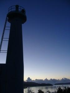 奄美大島南部・瀬戸崎灯台