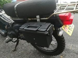 奄美大島・昭和荘のレンタルバイク