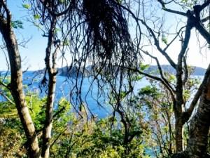 奄美・マネン崎から見るカケロマ島