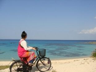 昭和荘の自転車ツアーで海へ行く