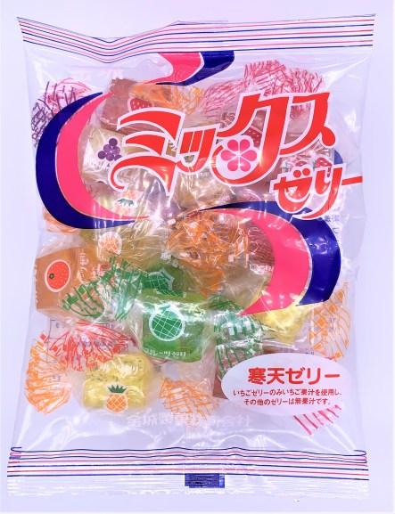 金城ミックスゼリー。懐かしいお菓子。japanese-nostalgia-snacks-kinjo-mix-jelly