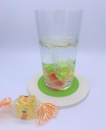 金城ミックスゼリー。アレンジ。japanese-nostalgia-snacks-kinjo-mix-jelly