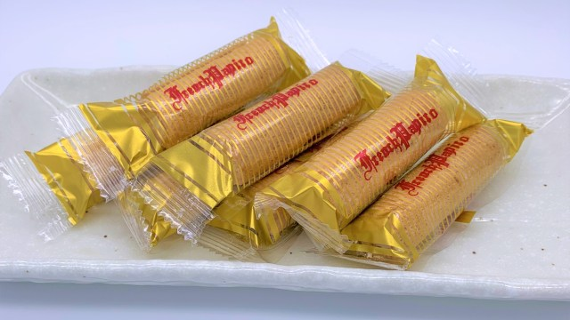 フレンチパピロ。懐かしいお菓子。japanese-nostalgia-snacks 七尾。