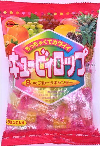 ブルボン キュービィロップ 飴 懐かしいお菓子 japanese-nostalgia-candy-bourbon-cubyrop-candy