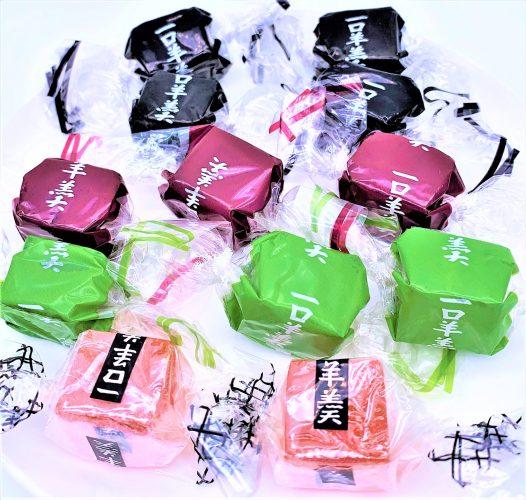 杉本屋製菓 一口ようかん 角切り 懐かしいお菓子 japanese-nostalgia-snacks-sugimotoya-hitokuchi-yokan-azuki-bean-jelly