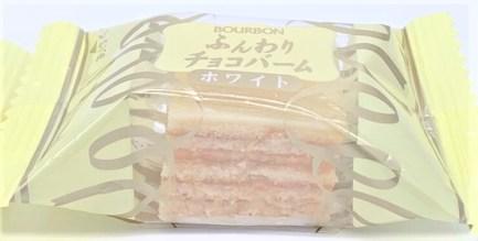 ブルボン ふんわりチョコバーム ホワイト ひとくちサイズ バームクーヘン 期間限定 2019 japanese-snacks-bourbon-funwaricyokobamu-bite-size-baumkuchen-white-chocolate-2019-limited-edition