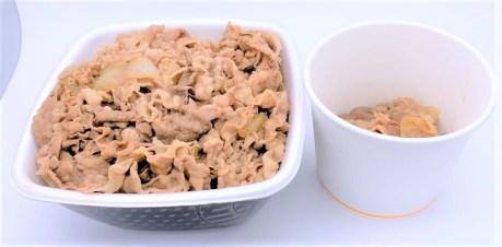 吉野家 肉だく牛丼 超特盛 並 テイクアウト お持ち帰り 2020 japanese-fast-food-yoshinoya-nikudaku-gyu-don-chotokumori-and-nami-beef-bowl-2020-takeout