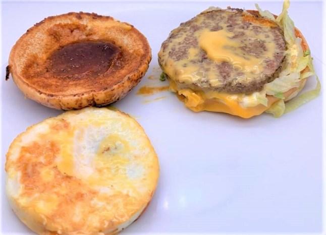 マクドナルド チーズロコモコ マックでどこでもハワイ 気分 テイクアウト 2020 期間限定 japanese-mcdonalds-cheese-loco-moco-beef-burger-hawaian-style-2020-limited-edition