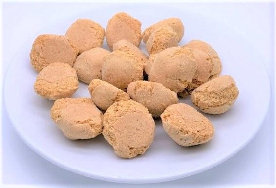 故郷うまいもん自慢 まころん 懐かしいお菓子 2020 japanese-snacks-makoron-peanut-sweets-resemble-amaretti-2020