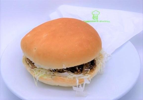コメダ珈琲店 コメ牛 並 季節限定バーガー テイクアウト 2020 japanese-chain-coffee-shop-komeda-komegyu-beef-boneless-short-rib-hamburger-2020-to-go