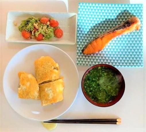三島食品 ゆかり しそごはん用 ゆかりご飯の焼きおにぎり 2020 japanese-modest-meal-middle-aged-handmade-used-mishima-yukari-dry-rice-seasoning-2020