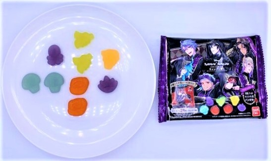 バンダイ ツイステッドワンダーランド キャンディグミ シール付き お菓子 2020 japanese-candy-bandai-disney-twisted-wonderland-gummies-2020